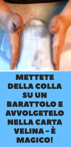 Mettete della colla su un barattolo e avvolgetelo nella carta velina – è magico! Marry Xmas, Diy And Crafts, Crafts For Kids, Friendship Bracelet Patterns, Interior Design Living Room, Room Interior, Holidays And Events, Christmas Diy, Mason Jars