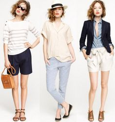 J. Crew. Goddd, give me ALL of these outfits! SO CUTE.