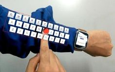 NEC Augmented Reality Device Can Turn Your Arm Into A Keyboard - http://ttj.pw/1T2UW8l Japanese IT company NEC Corporation has invented a user interface that can turn your forearm into a augmented-reality keyboard by using eyeglasses and a smart watch.. [Click on Image Or Source on Top to See Full News]