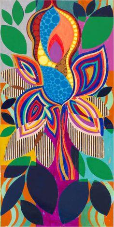 Beatriz Milhazes expõe nove obras inéditas em São Paulo | BLOUIN ARTINFO                                                                                                                                                                                 Mais