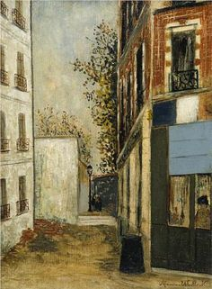 "Cabare ""Belle Gabrielle"" - Maurice Utrillo  www.artexperiencenyc.com"