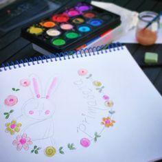 Ante el confinamiento, dibujar y pintar. Personalized Baby Gifts, Draw, Hand Made