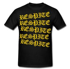 'Repeat' Tee http://respiteclothingco.spreadshirt.com/men-s-heavyweight-t-shirt-A12612720/customize/color/2  #skatelife #skateboarding #mens #guys #tee #tshirt #summer #skate #respite #clothing #breathe #navy #gold #oldenglish #repeat #fashion