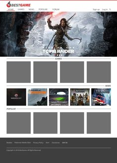 Desain Web Website Portal