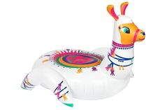 Llama Ride-On Inflatable Pool Float. Be transported to the plains of Arabia with the PUMPT Inflatable Llama. Imitated but never equalled—the original pool inflatables. How long will it take to dispatch my order?