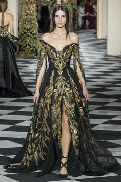 Zuhair Murad Herbst/Winter - Couture - Source by fashion dresses Haute Couture Paris, Style Haute Couture, Elie Saab Couture, Couture Week, Haute Couture Gowns, Juicy Couture, Zuhair Murad Dresses, Zuhair Murad 2018, Zuhair Murad Bridal