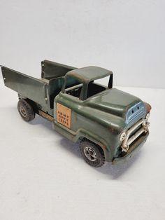 Toy Trucks, Fire Trucks, Vintage Metal, Vintage Toys, Pressed Metal, Selling Antiques, Antique Items, Good Old, Vermont