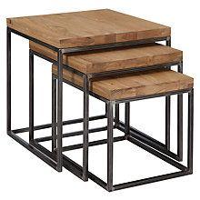 Buy John Lewis Calia Nest Of 3 Tables Online at johnlewis.com