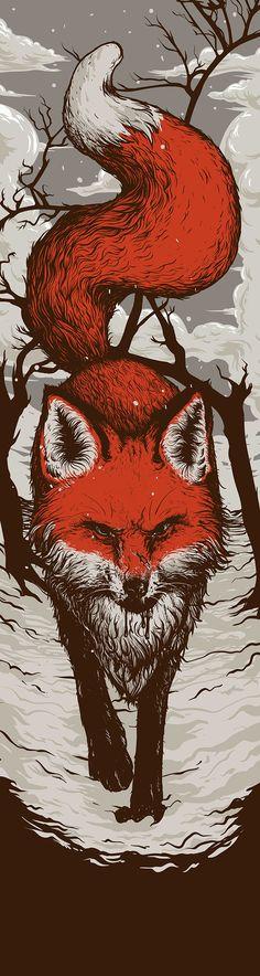 Red Fox on Behance