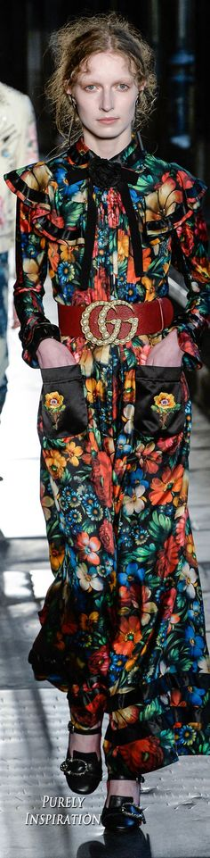 Gucci Resort 2017 Women's Fashion RTW   Purely Inspiration