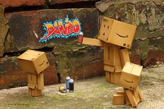 Danbo graffiti | Big D is teaching his boys some of the thin… | Flickr
