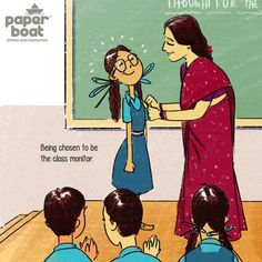 These beautiful illustrations by Paper Boat describe school memories in a beautiful way, and it will definitely make you miss your school. Childhood Memories Quotes, Childhood Days, School Memories, Sweet Memories, School Days Quotes, Boat Cartoon, Boat Drawing, Funny School Memes, Funny Jokes