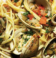 A forever favorite of mine - Linguine with Clam Sauce