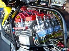 Image result for KZ1000 Pro Mod Drag Bikes