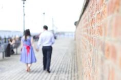 The Albert Dock, Liverpool, was the perfect setting for a lovely afternoon stroll, but... the weather did not look like it would be in our favour on the morning of Paul and Rosie's engagement shoot...