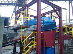 The installation of our Electro Overband Magnet in a operation. The removes tramp ferrous metal to protect screens, crushers & conveyor belts Conveyor Belt, Magnets, Around The Worlds, How To Remove, The Unit, Screens, Belts, Metal, Canvases