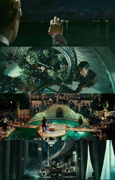The Great Gatsby Director: Baz Luhrmann. The Great Gatsby 2013, Baz Luhrmann, Pool Images, Architecture Art Design, Light Film, Digital Film, Cinematic Photography, Movie Shots, Film Inspiration