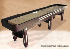 SHUFFLEBOARD TABLE : SHUFFLEBOARD TABLES