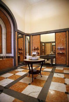 Boudoir and bathroom of Countess Revilla de Camargo, Museo de Artes Decorativas