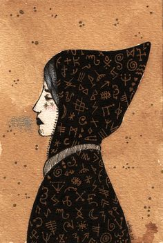 Season of the Witch - pérégrinations guldesques Season Of The Witch, Gauche, Illustrations, Tarot, Weird, Seasons, India Ink, Seasons Of The Year, Illustration