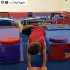 10 Ways to Get Beginner Gymnasts Ready for Handstands! Gymnastics Games, Gymnastics Handstand, Toddler Gymnastics, Gymnastics Lessons, Preschool Gymnastics, Gymnastics Floor, Gymnastics Tricks, Tumbling Gymnastics, Gymnastics Coaching