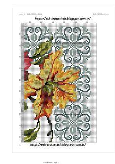 Cross Stitch Borders, Cross Stitch Rose, Cross Stitch Flowers, Cross Stitching, Cross Stitch Patterns, Diy Fleur, Prayer Rug, Instagram Design, Hibiscus