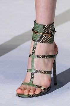Sandali Gucci collezione primavera estate 2013