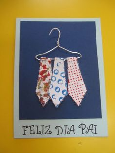 pinterest ideias para o dia do pai – Pesquisa Google Art For Kids, Crafts For Kids, Daddy Day, Paper Crafts, Diy Crafts, Fathers Day Crafts, Activities For Kids, Projects To Try, Card Making