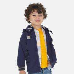 Kurtka dla chłopców przejściowa Mayoral Neck Collar, Windbreaker Jacket, Rain Jacket, Boys, Zip, Jackets, Color, Fashion, Baby Boys