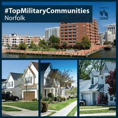 Norfolk Is Home To K Active Duty Military And Their Families See Which Three Places Navy Lifevirginia Beachmilitary