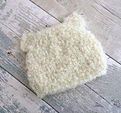 Off White Bear Ear Hat, Animal Baby Hat, Knit Bear Hat, Infant Bear Hat, Baby Hat With Ears, Bear Beanie, New Baby Gift, Newborn Bear Hat