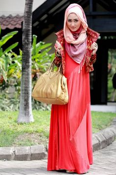 nice Hijab Style Latest 2013