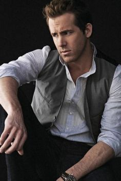 Ryan Reynolds<3 He just so i mean just look at him