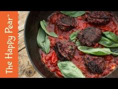 (1289) VEGAN BEET BALLS IN 5 MINUTES | THE HAPPY PEAR - YouTube