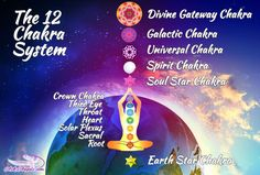 There are most than 7 chakras for those who are ascending. Understand the 12 chakra system, which is actually 13 chakras, by clicking here! 7 Chakras, Seven Chakras, Chakra Healing, Chakra Meditation, Meditation Music, Mindfulness Meditation, Kundalini Yoga, Chakra System, Ayurveda