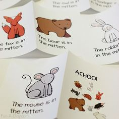 The Mitten Printable Emergent Reader More