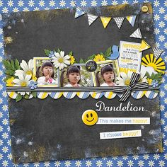 Choose Happy :: Full & Mini Kits :: Memory Scraps