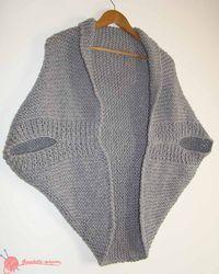 9 Tips for knitting – By Zazok Shrug Knitting Pattern, Sweater Knitting Patterns, Loom Knitting, Baby Knitting, Crochet Pattern, Crochet Cocoon, Crochet Cardigan, Crochet Shawl, Knit Crochet