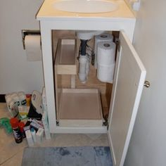 Popular If Youre Not Looking To Invest A Lot Of Money Into Storage Shelves, Dont Forget There Are Plenty Of DIY Ideas For Attachable  And In The Bathroom Image Via Organizing Made Fun Httporganizingmadefunblogspotca201506rvorganizing