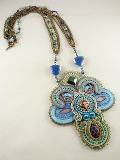 Amee K. Sweet-McNamara Soutache Jewelry Examples Current