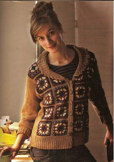 Granny Jacket- Interweave 2004. I LOVE THIS AND I MUST MAKE IT!