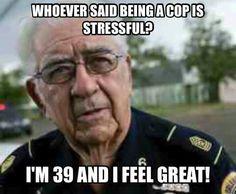 Cop humor...lol                                                       …