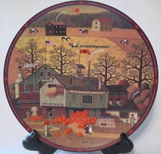 #Pepper cricket #grove collectible plate wysockis #farms,  View more on the LINK: http://www.zeppy.io/product/gb/2/320516470419/