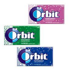 En CVS puedes conseguir los Chicles Orbit de 14 ct a $1.00 en especial. Compra (1) y recibes $1.00 Extrabucks al final lo obtienes gratis.