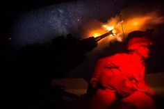 U.S. Marines have been conducting 24-hour fire support for the Syrian Democratic Forces as part of CJTF-OIR to defeat ISIS in Iraq and Syria.