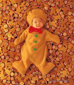 Gingerbreads Print By Anne Geddes