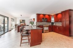 Newly renovated gourmet kitchen