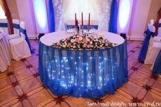 Wedding decor heart table #wedding #weddingdecor #bluewedding
