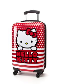 HELLO KITTY | 22'' Hello Kitty Dotted Lines Spinner Luggage