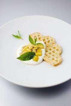 Joghurt - Waffeln
